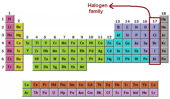 Halogens Chemistry H Project